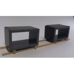 Heico 870331 Concrete Structure Load x 2 on 1 wooden frame TT / HOe / HO / 00