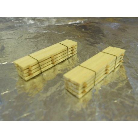 ** Heico 220246 2 x Timber Loads on Wooden Blocks 40mm TT / N