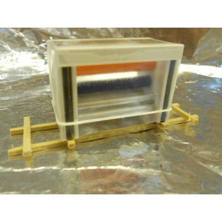** Heico 870872 Large Printing Press Wrapped in Plastic TT / HOe / HO / 00