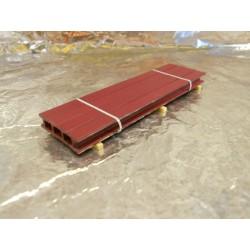 ** Heico 08710 Load of Metal Girders on Wooden Blocks 90mm TT / HOe / HO / 00