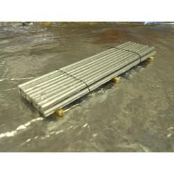 ** Heico 08720 Load Metal Rods on Wooden Blocks 90mm TT / HOe / HO / 00