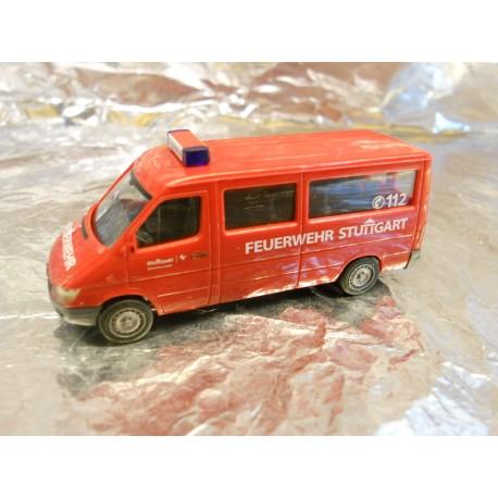 """** Herpa 284714 Mercedes Benz Sprinter """"Stuttgart fire Department"""""""