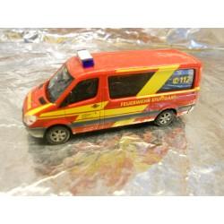 ** Herpa 900898  Mercedes-Benz Sprinter Stuttgart fire Department