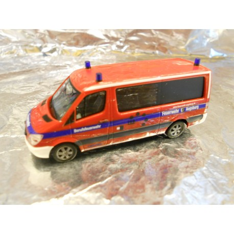 "** Herpa 294706  MB Sprinter 06  "" Augsburg Fire Department ""."