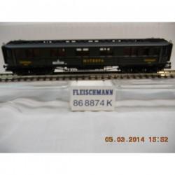 ** Fleischmann 868874   4-Axel Mitropa Express Sleeper Coach Epoch II
