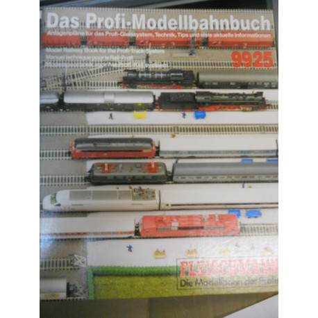 ** Fleischmann 9925 Model Railway Book for the Prifi-Track System HO Scale (English)