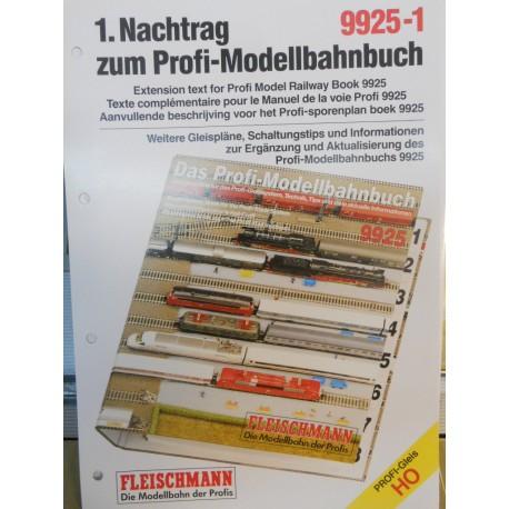** Fleischmann 9925-1 Extension Text for Profi Model Railway Book 9925 1:87 Scale