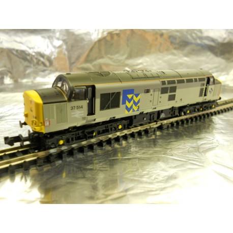 ** Graham Farish 371-167 Class 37/5 37514 Railfreight Metal Sector
