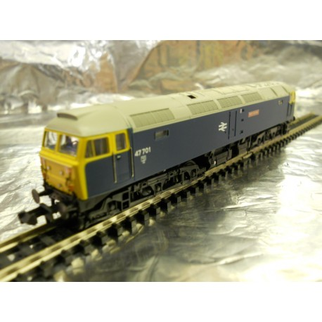 ** Graham Farish 372-243 Class 47/7 47701 Saint Andrew BR Blue