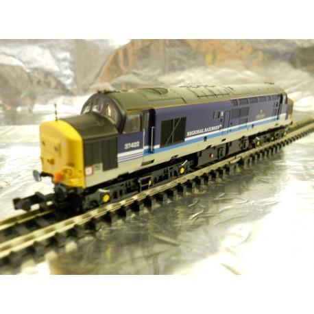 ** Graham Farish 371-170 Class 37/4 37422 'Robert F Fairlie' BR Regional Railways