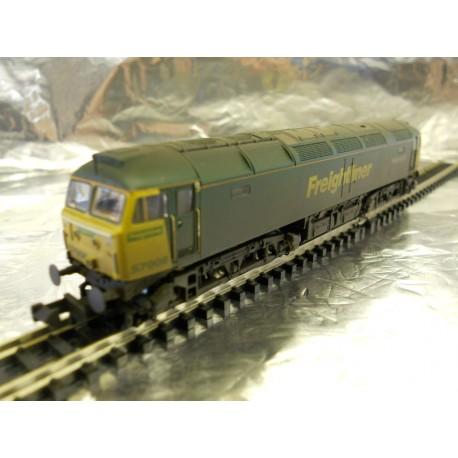 ** Graham Farish 371-651A Class 57/0 57008 Freightliner Explorer Weathered