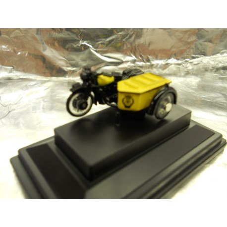 ** Oxford Diecast 76BSA001 BSA Motorcycle and Sidecar AA