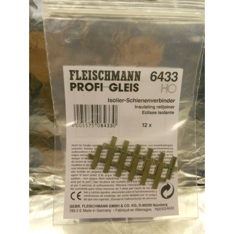 ** Fleischmann 6433 Profi Track Isolating  Rail Joiners