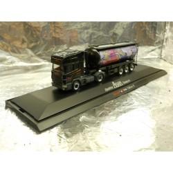 ** Herpa 265140 Scania Topline With Silo Trailer Edo Geisha Asam