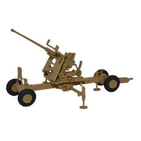 ** Oxford Diecast 76BF003 Bofors Gun 40mm Desert Light Stone