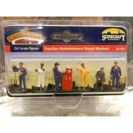 ** Bachmann 36-051 TMD Workers (6)