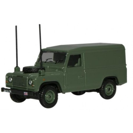 ** Oxford Diecast 76DEF003 Land Rover Defender Military