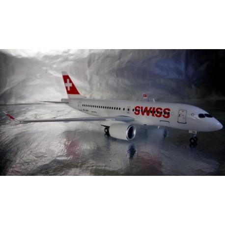 ** Herpa Wings 558471 Swiss International Air Lines Bombardier CS100 HB JBA