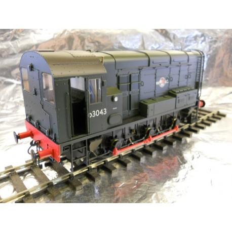 ** Dapol 7D-008-000D BR Class 08 D3043 Green Late Crest DCC-Sound