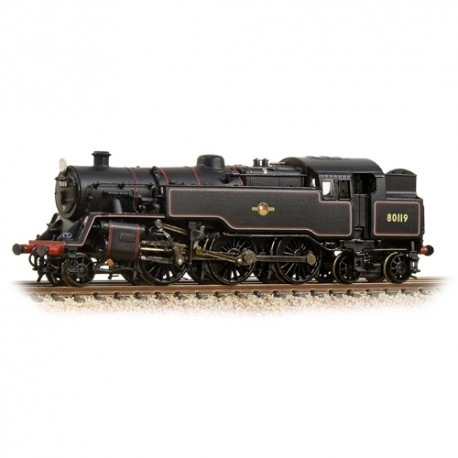 * Graham Farish 372-536	Class 4MT Tank 80119 BR Lined Black Late Crest