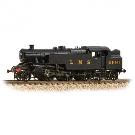 ** Graham Farish 372-750 Fairburn 2-6-4 Tank 2691 LMS Black