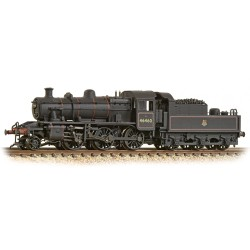 ** Graham Farish 372-629 Ivatt Class 2MT 2-6-0 46460 BR Early Emblem Weathered