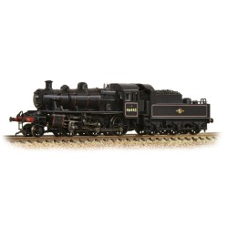 ** Graham Farish 372-628 Ivatt Class 2MT 2-6-0 46443 BR Lined Black Late Crest