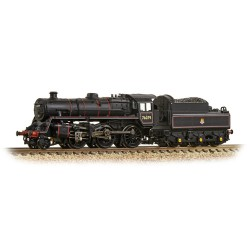 ** Graham Farish 372-653 BR Standard Class 4MT 76079 BR Lined Black Early Emblem