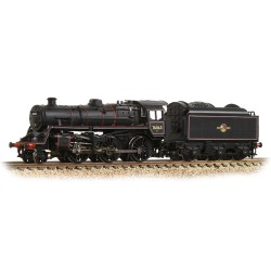 ** Graham Farish 372-654 BR Standard Class 4MT 76063 BR Lined Black Late Crest