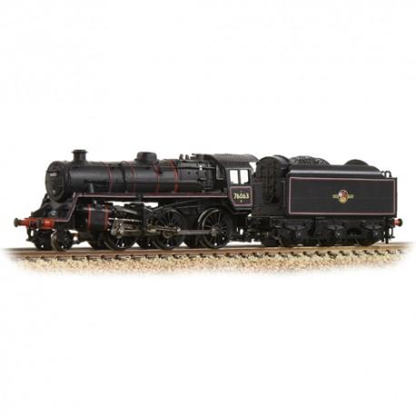 ** Graham Farish 372-654 BR Standard Class 4MT 76063 BR Lined Black Late Crest