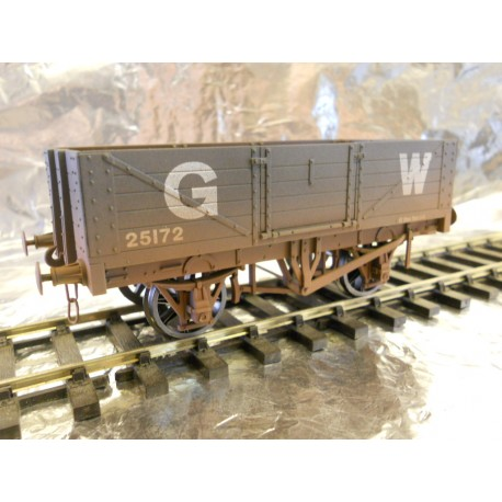 ** Dapol 7F-051-029W 5 - Plank Wagon GWR 25172  Weathered