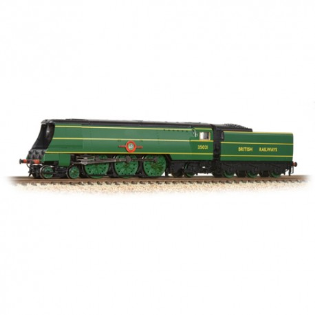 ** Graham Farish 372-313 Merchant Navy Class 35021 'New Zealand Line' BR Malachite