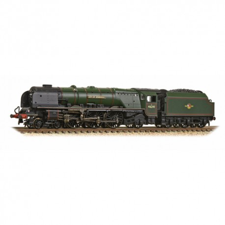 ** Graham Farish 372-182A Princess Coronation Class 46241 'City of Edinburgh' BR Green Late Crest