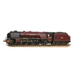 ** Graham Farish 372-184A Princess Coronation Class 46228 'Duchess of Rutland' BR Crimson Late Crest