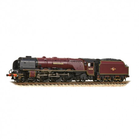 ** Graham Farish 372-184A Princess Coronation Class 46228 'Duchess of Rutland' BR Crimson Late Crest