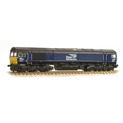 ** Graham Farish 371-397 Class 66 66434 DRS Plain Blue Compass