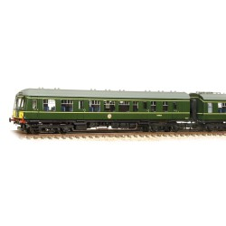 ** Graham Farish 371-880 Class 108 2 Car DMU BR Green Small Yellow Panel