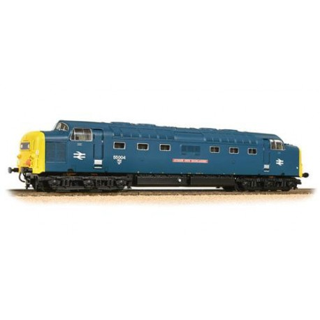 ** Bachmann 32-534DS Class 55 55004 'Queen's Own Highlander' BR Blue - DCC Sound