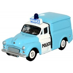** Oxford Diecast 76P008LB Morris Minor Police ( Light Bar)