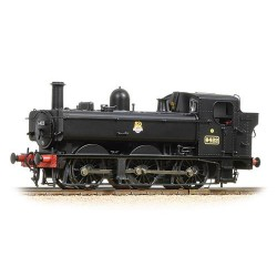 ** Bachmann 31-636A Class 64xx 6422 0-6-0 Pannier Tank BR Black Early Emblem