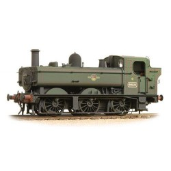 ** Bachmann 31-638 Class 64xx 6419 0-6-0 Pannier Tank BR Lined Green Late Crest - Weathered