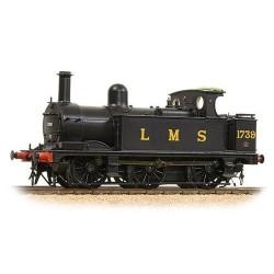 ** Bachmann 31-433 Midland Class 1F 1739 LMS Black Open Cab