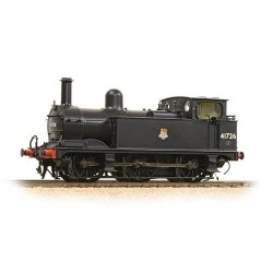 ** Bachmann 31-435 Midland Class 1F 41726 BR Black Early Emblem Vacuum Fitted Enclosed Cab