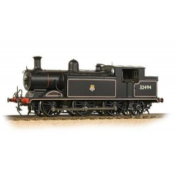** Bachmann 35-079 Class E4 0-6-2 32494 BR Lined Black Early Emblem