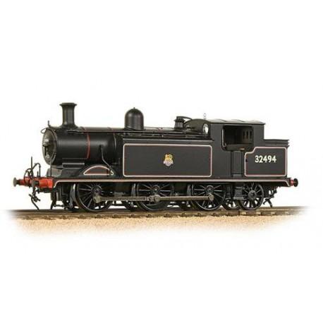** Bachmann 35-079 Class E4 0-6-2 32494 BR Lined Black Early Emblem