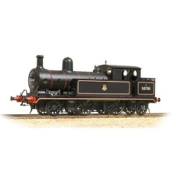** Bachmann 31-169 L&YR 2-4-2 Tank 50705 BR Lined Black Early Emblem