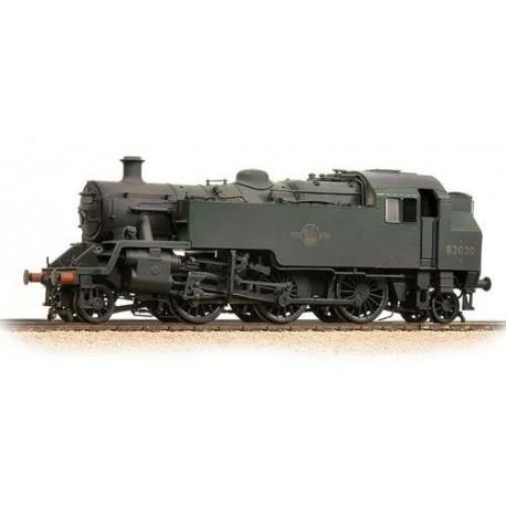** Bachmann 31-980 BR Standard Class 3MT Tank 82020 BR Green L/Crest Weathered