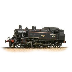 ** Bachmann 31-441DC Ivatt Class 2MT 2-6-2 Tank 41291 BR Lined Black L/Crest (DCC Fitted)