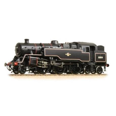 ** Bachmann 32-360A BR Standard Class 4MT Tank 80104 BR Lined Black Late Crest