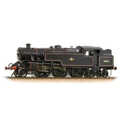 ** Bachmann 32-882 Fairburn 2-6-4 Tank 42062 BR Lined Black Late Crest